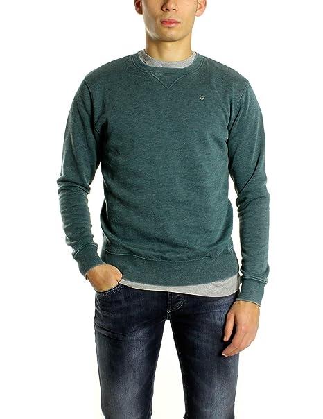 52e87bb40a Fifty Four - Felpa - Uomo Blu L: Amazon.it: Abbigliamento