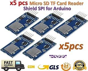 TECNOIOT 2pcs 0.96 Inch 7P SPI HD TFT ST7735 Drive IC 80 160 65K Full Color IPS LCD