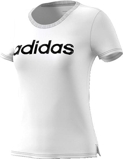 adidas Essentials Linear Tee T Shirt Femme: