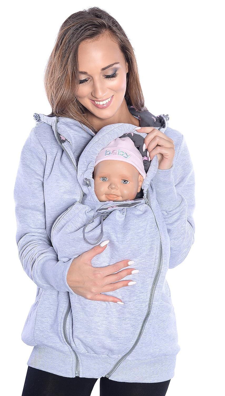 Mija - 3in1 Tragejacke, Umstandsjacke Tragepullover für Tragetuch für  Babytrage 4046 79e65c9ba38