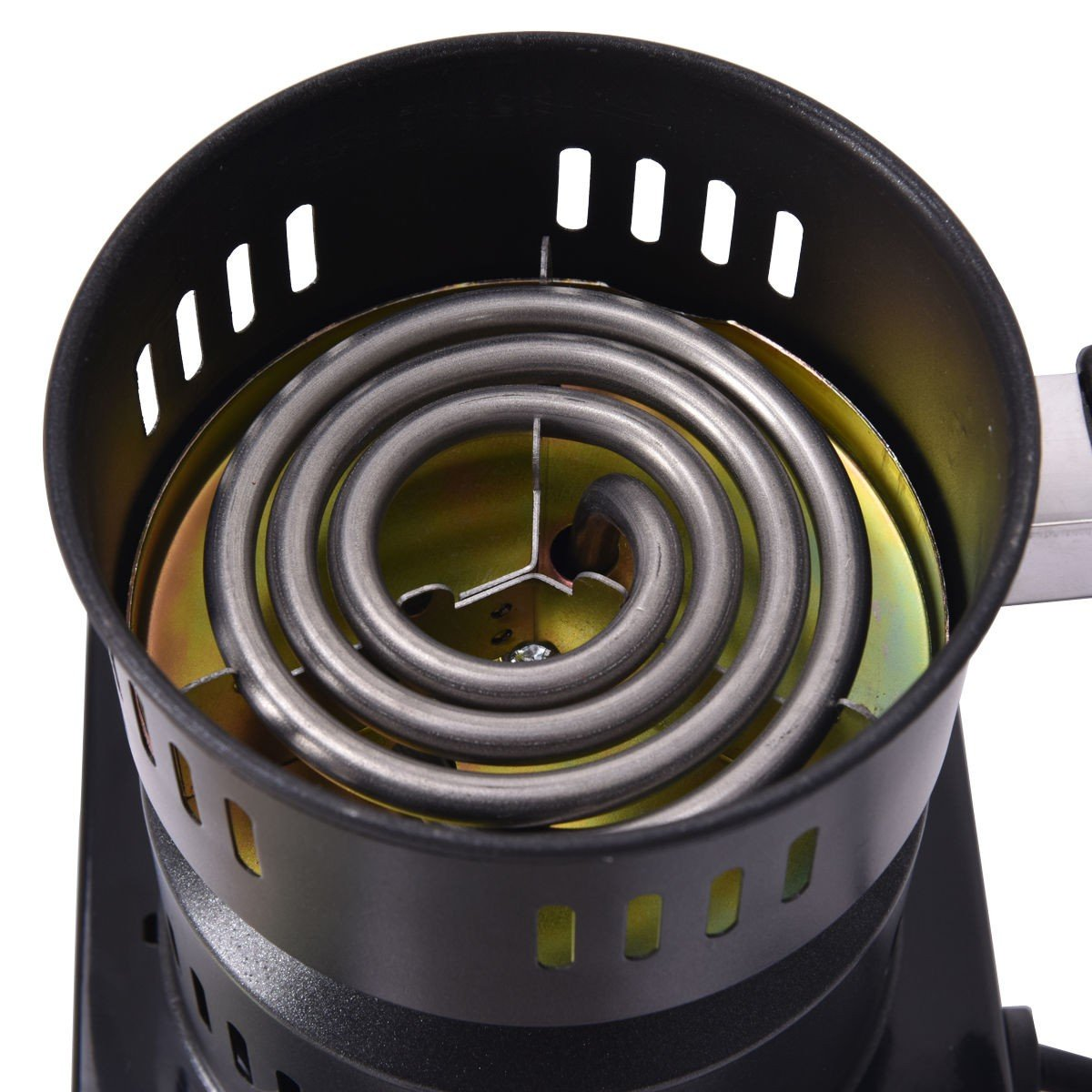 Electric Charcoal Starter Hookah Shisha Nargila Heater Stove Charcoal Burner Costway by COSTWAY (Image #5)