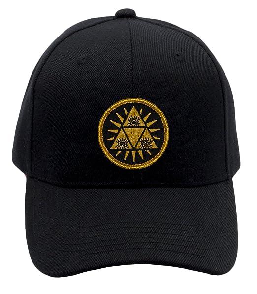 cff03513586 Amazon.com  Illuminati Hat   Ballcap! Adjustable-Back Ball Cap with ...
