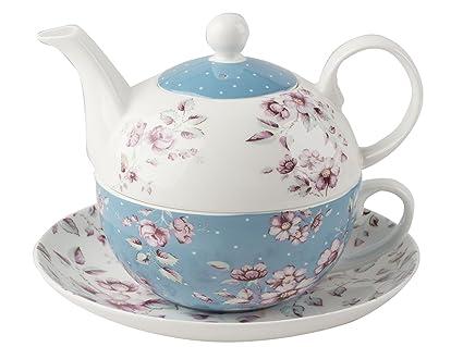 Katie Alice Ditsy Floral juego de té para uno con platillo 8221e260503