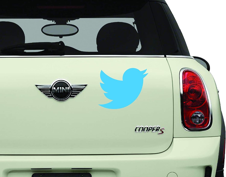 Twitter Bird SCI-FI/Comics/Games Automotive Decal/Bumper Sticker