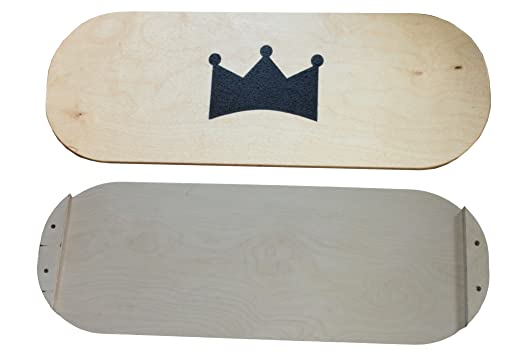 BoardKING - Tabla de skate, surf o equilibrio para interior, Pro, large: Amazon.es: Deportes y aire libre