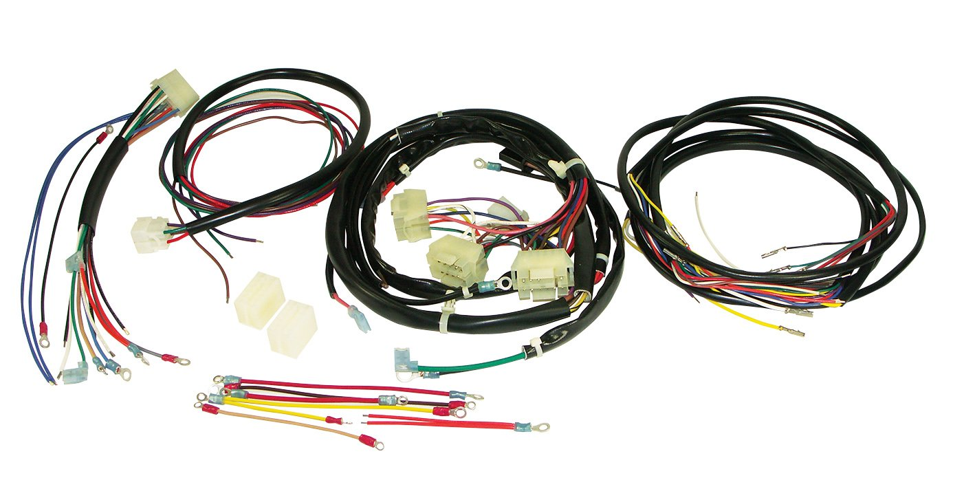 amazon com power house 12059 black plus wiring harness kit for flh Electrical Harness