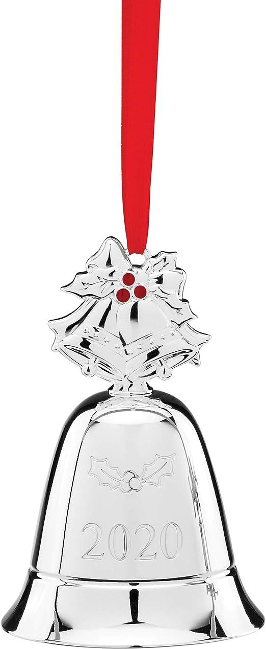 Lenox 2020 Christmas Bell Ornament Amazon.com: Lenox 2020 Annual Musical Bell Ornament, 0.50 LB
