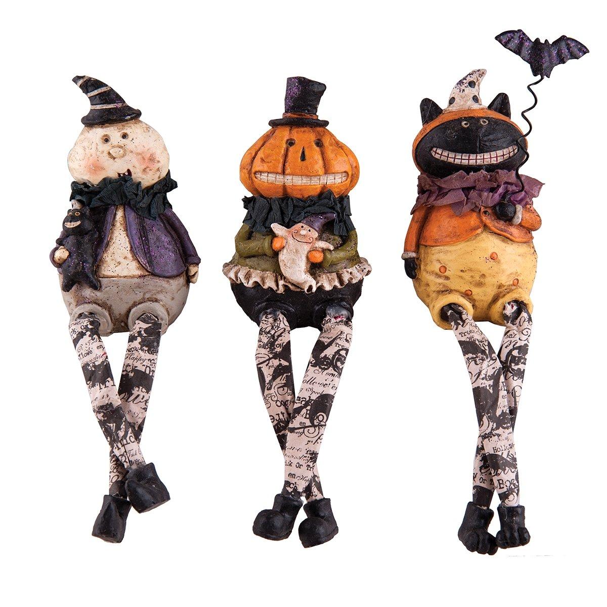 Halloween Spooky Shelf Sitter s, 6.25'', Assorted 3