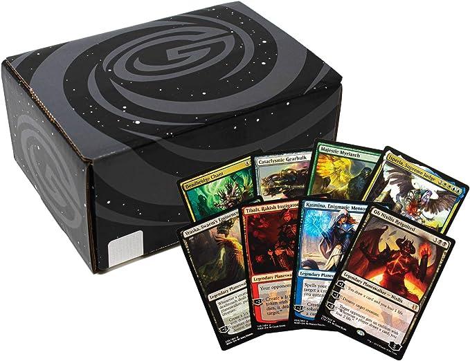 MTG Cards (1000) 4 Planeswalkers, 4 Raras míticas, 15 Raras y 15 Láminas garantizadas! Paquete surtido de tarjetas Mágicas Oficiales y Auténticas: Amazon.es: Juguetes y juegos