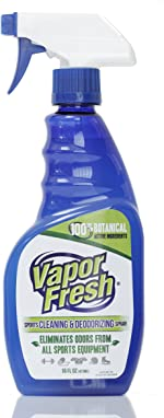 Vapor Fresh Natural Cleaning And Deodorizing Spray For Gym Equipment, Yoga