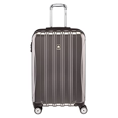 "DELSEY Paris Luggage Checked-Medium (25""-28""), Titanium best spinner luggage"