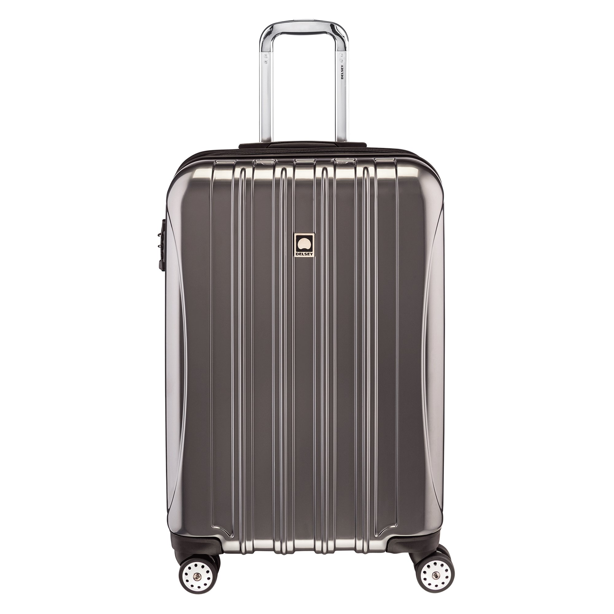 Delsey Luggage Helium Aero 25 Inch Expandable Spinner Trolley, Titanium,One Size by DELSEY Paris (Image #1)