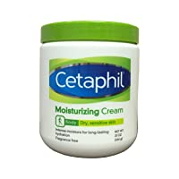 Cetaphil Moisturizing Cream for Dry, Sensitive Skin, Fragrance Free, Non-comedogenic...
