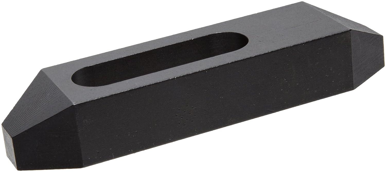 Black Oxide Finish 6 Long x 3//4 Stud Size TE-CO Plain Clamp