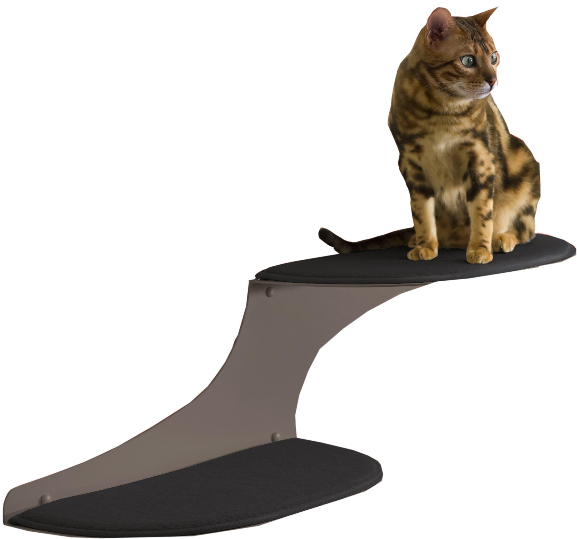 Refined Feline Cat Cloud Cat Shelf - Titanium Medium
