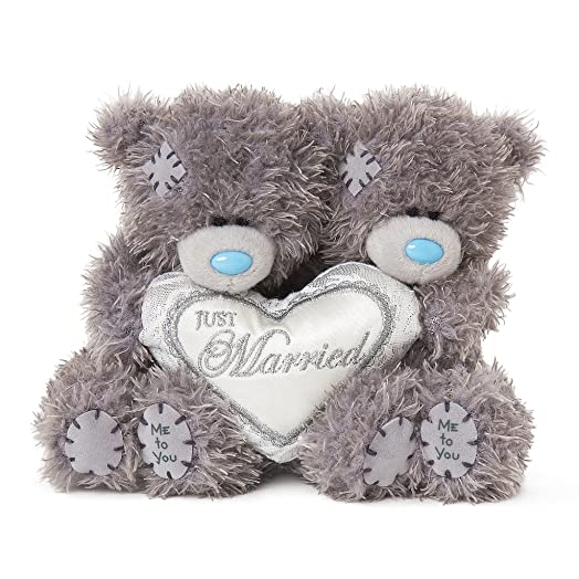 Me To You Tatty Teddy Just Married Bears Wedding Gift