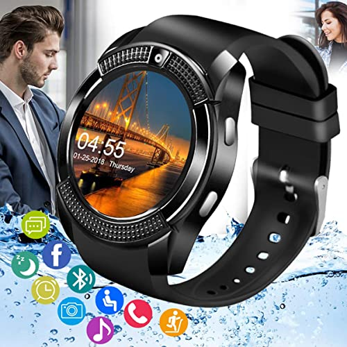 side facing pradory smart fitness tracker watch