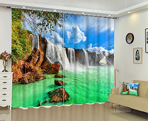 Reviewed: LB Nature Scenery Window Curtains