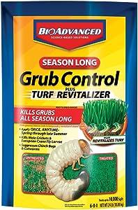 BioAdvanced 700720S 687073007206 Bayer Season Long Grub Control-24 lb. 700720A, 24-Pounds, Granules