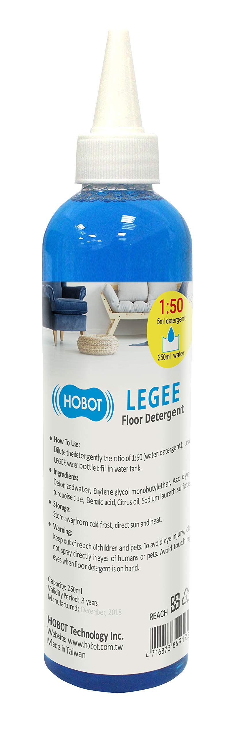 Floor Window Detergent Cleaner for HOBOT and LEGEE