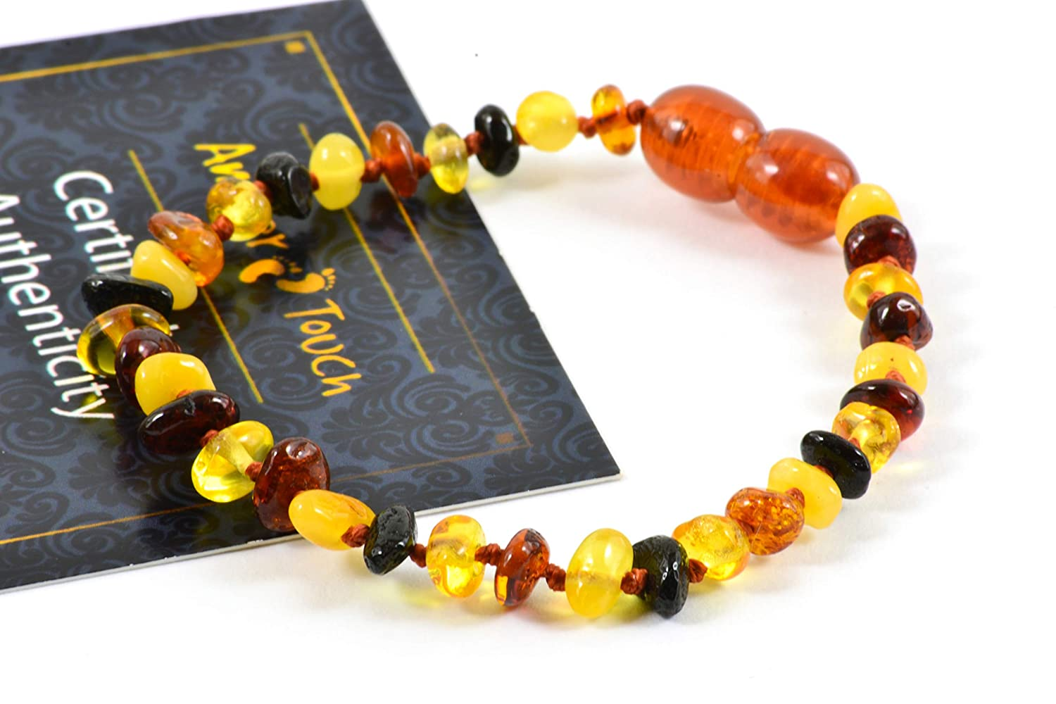 Certificated Natural Baltic Amber with the Highest Quality. Baltic Amber Teething Necklace for Babies Drooling /& Teething Pain Reduce Properties Unisex - Anti Flammatory