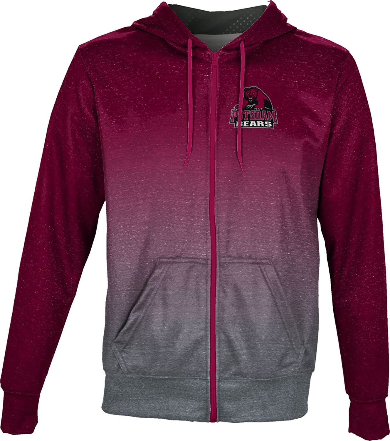 Ombre ProSphere State University of New York at Potsdam Boys Full Zip Hoodie