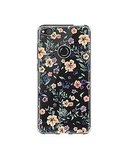 Vanki Custodia Huawei P8 Lite 2017, Huawei P8 Lite 2017 Cover Case Morbida di TPU Silikon Cristallo Trasparente Sottile Bordo Proteggi Copertura Completa (Huawei P8 Lite 2017, 1)