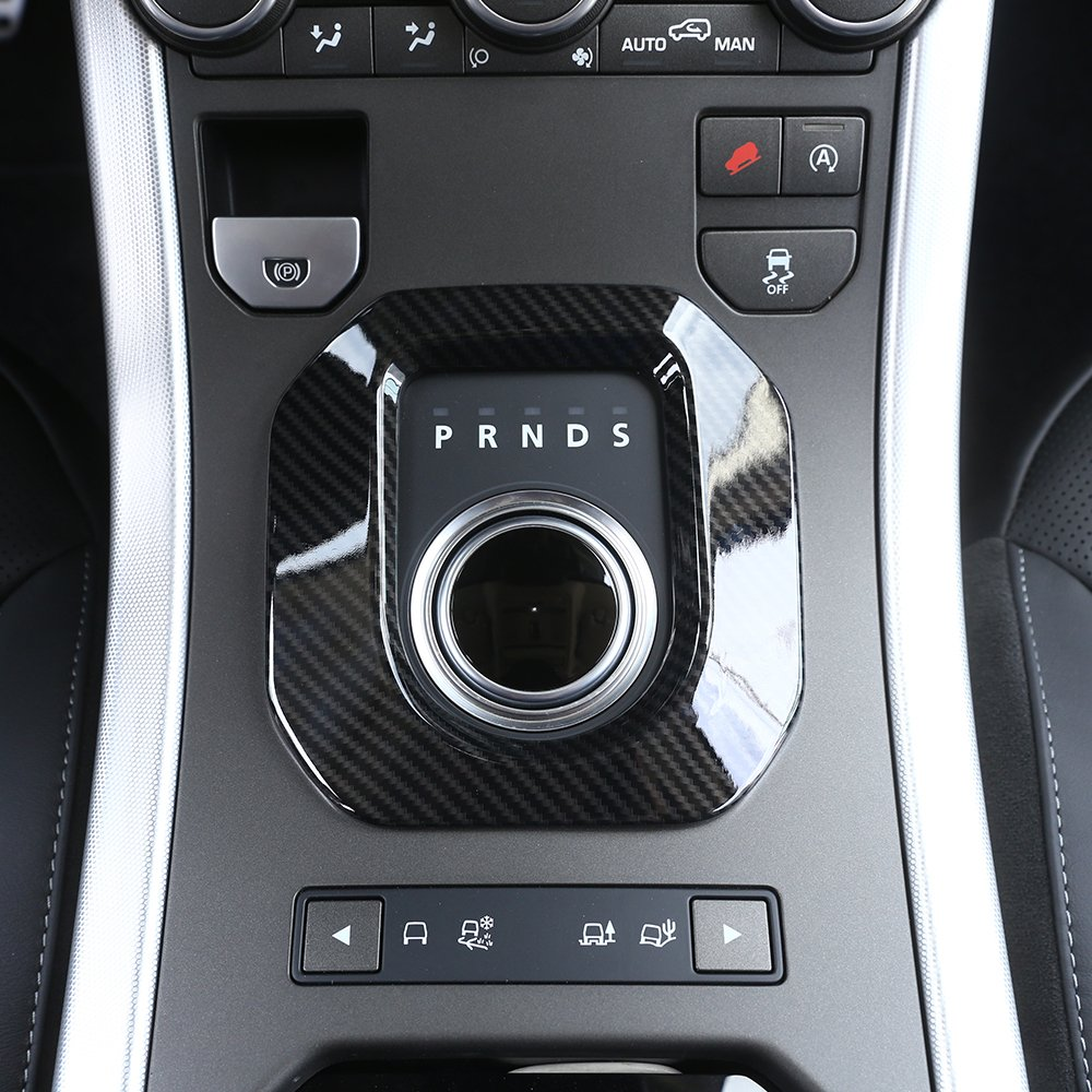 Nuovo. Carbon Fiber Style ABS plastica accessori Gear shift Frame cover Trim BEINSTOCK