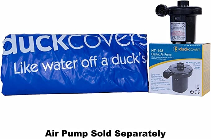 32L x 24W and Duck Dome Airbags Electric Air Pump Duck Covers Elegant Stackable Patio Chair Cover 28-Inch with Duck Dome Airbag