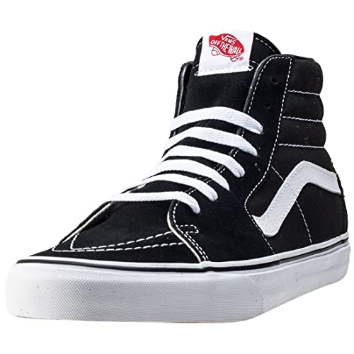 Vans Sk8 Hi Unisex Scarpe da Ginnastica In Black White nuovo Scarpe