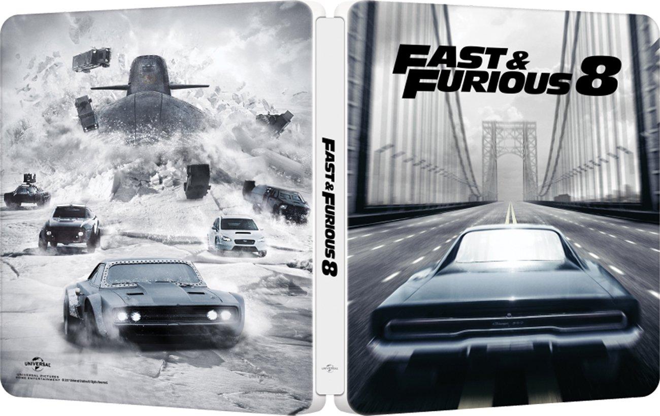 Fast & Furious 8 Steelbook White Edition Blu-Ray Italia Blu-ray ...