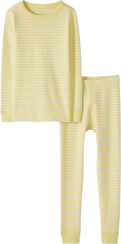 Moon and Back 2 Piece Long Sleeve Pajama Set Pajama-Sets Unisex beb/é