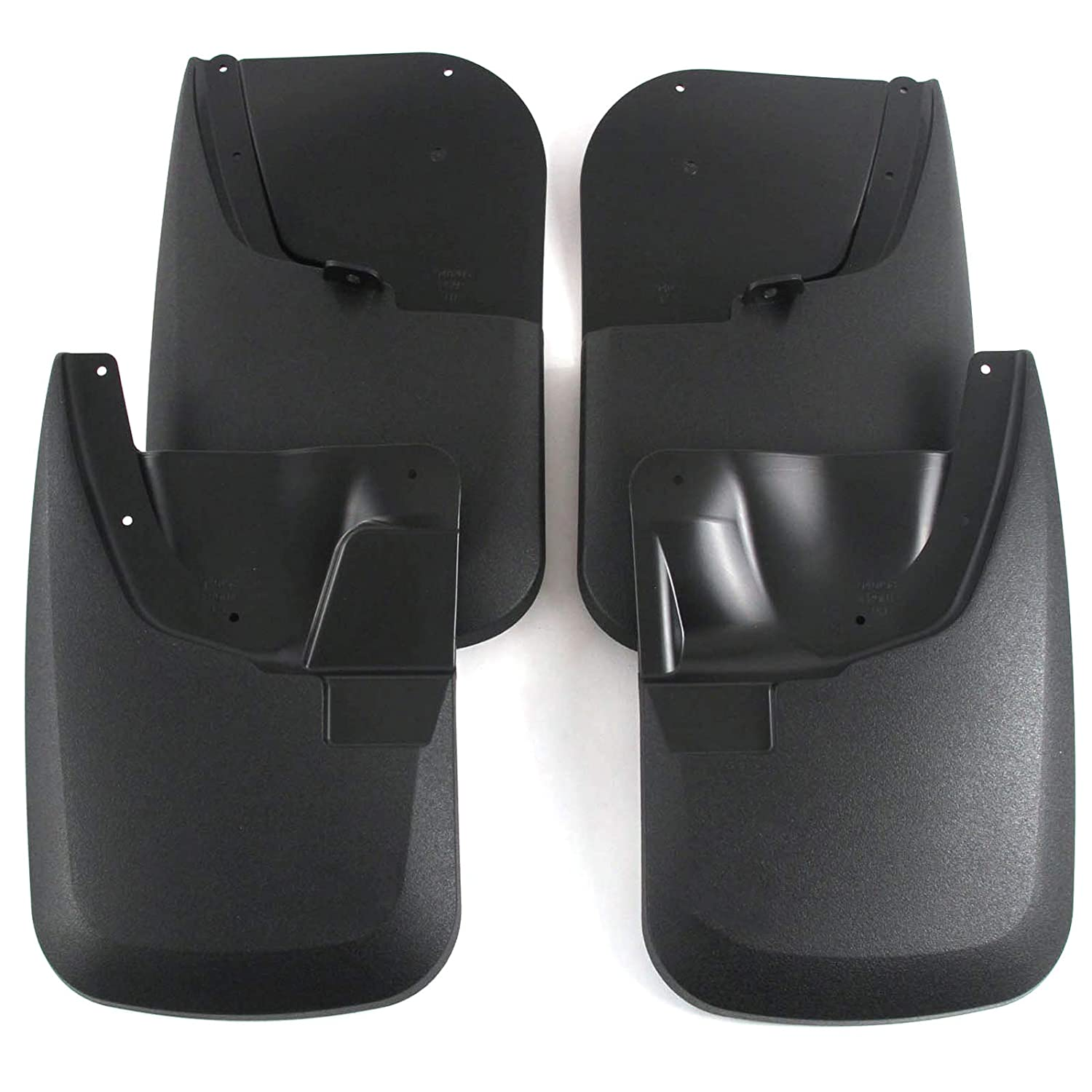Premium Heavy Duty Molded 2011-2016 Ford Super Duty F250//F350 Mud Flaps Guards Splash Front /& Rear 4pc Set Without Fender Flares