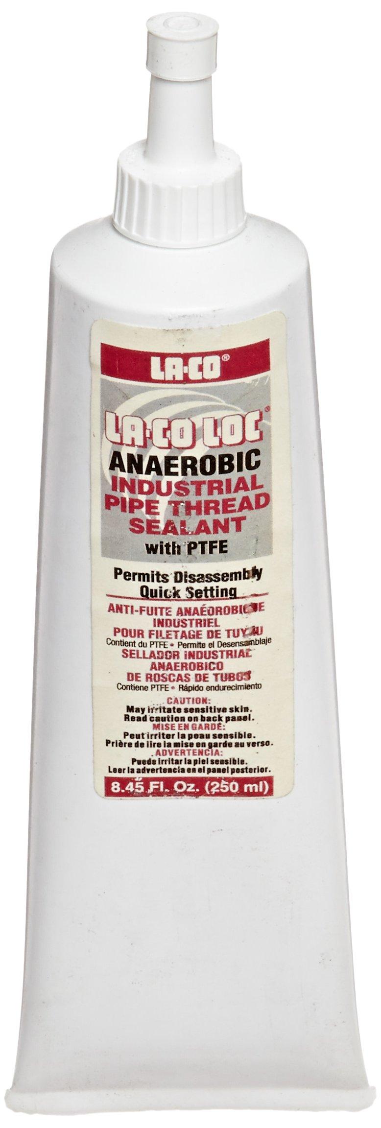 LA-CO Anaerobic Pipe Thread Sealant, -65 to 400 Degree F Temperature, 250 ml by La-Co