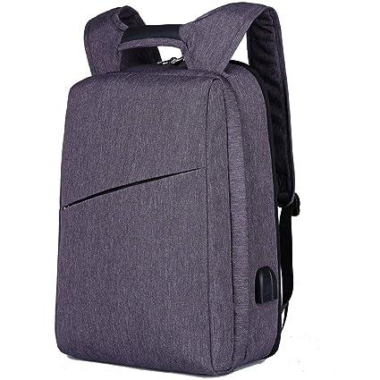 Mochila portátil, señoras y hombres viaje bolsa de la computadora, antirrobo bolsa de la