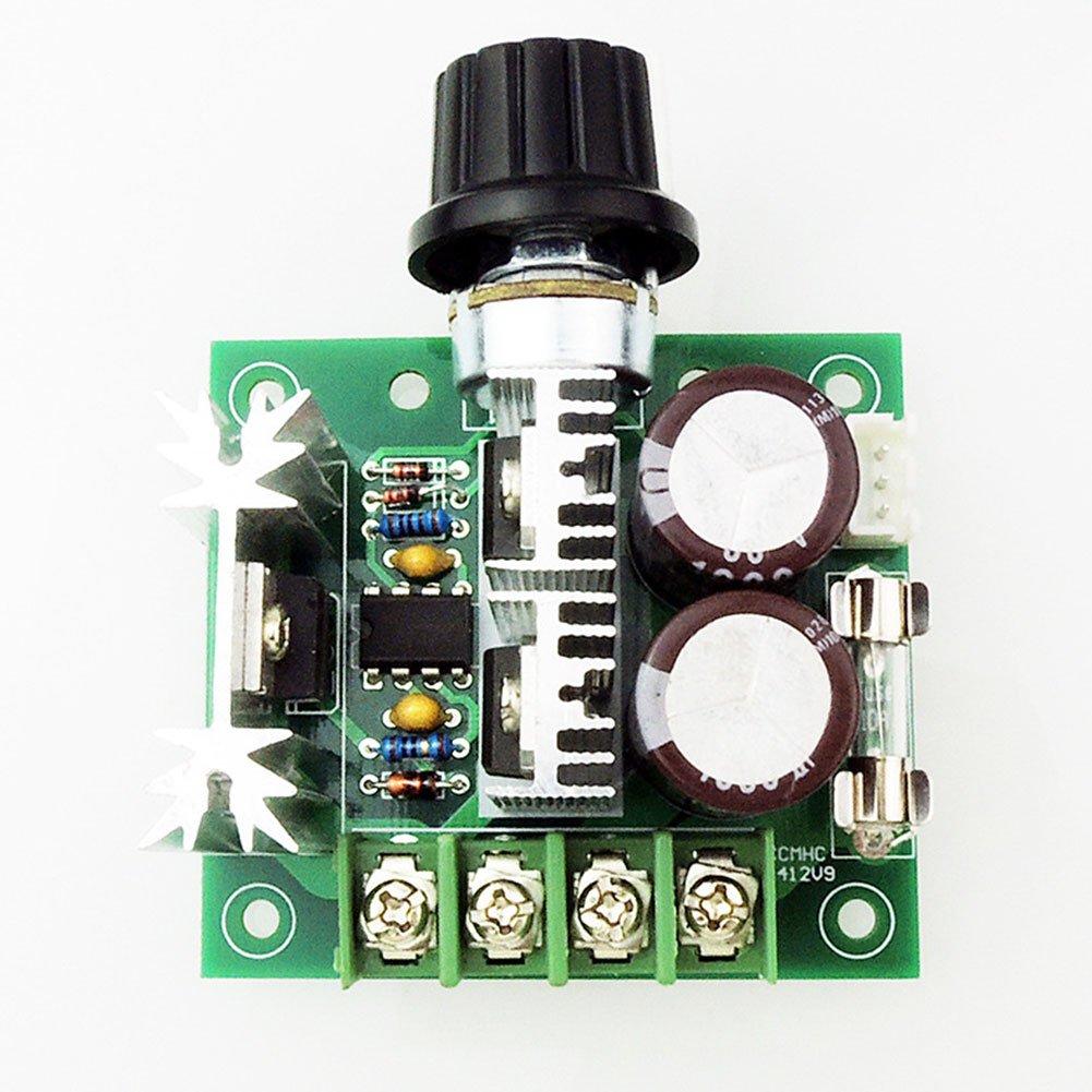 /40/V 10/A DC Motor Speed Controller contr/ôleur de Vitesse du Moteur /à Courant continu PWM commutateur de Commande 10/A Largeur dimpulsion Modulateur Soldmore7 12/V/