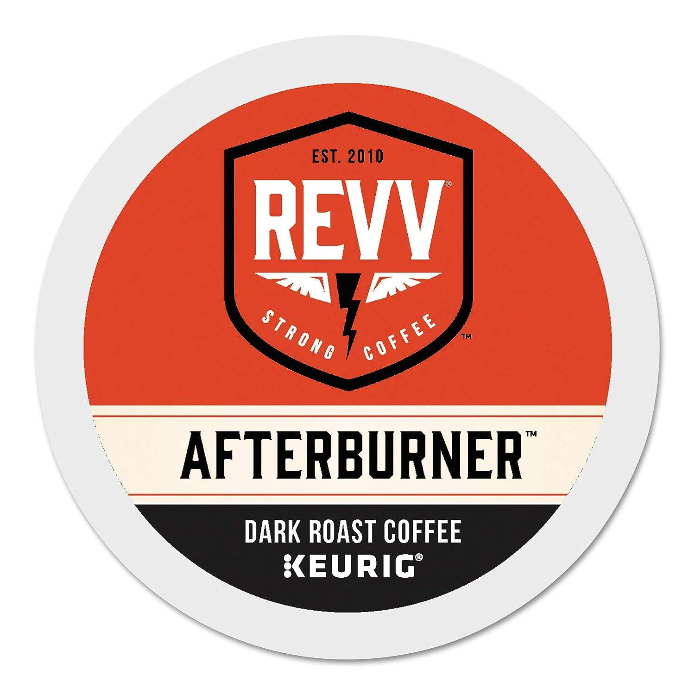 REVV Afterburner Keurig Single-Serve K-Cup Pods, Dark Roast Coffee, 96 Count 71WeQrvYrkL