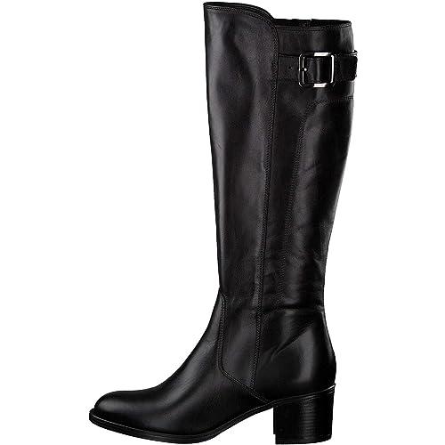 d54398b730ee Tamaris Damen Stiefel 1-1-25535-21 001 schwarz 522488  Amazon.de  Schuhe    Handtaschen