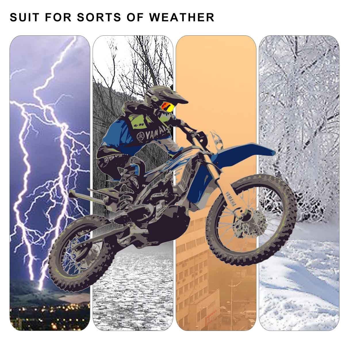 KAWELL Motorrad Schalter Drehen Signal-Horn//Head Light 7//20,3/cm Lenker Schalter f/ür Motorrad electrombiles gel/ändefahrzeugen Roller Snowmobile Entwickelt