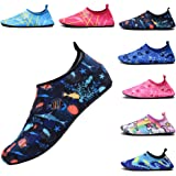 FASHOE Kids Swim Shoes Quick Dry Barefoot Socks Toddler Water shoesfor Baby's Boy's Girl's on Beach Pool