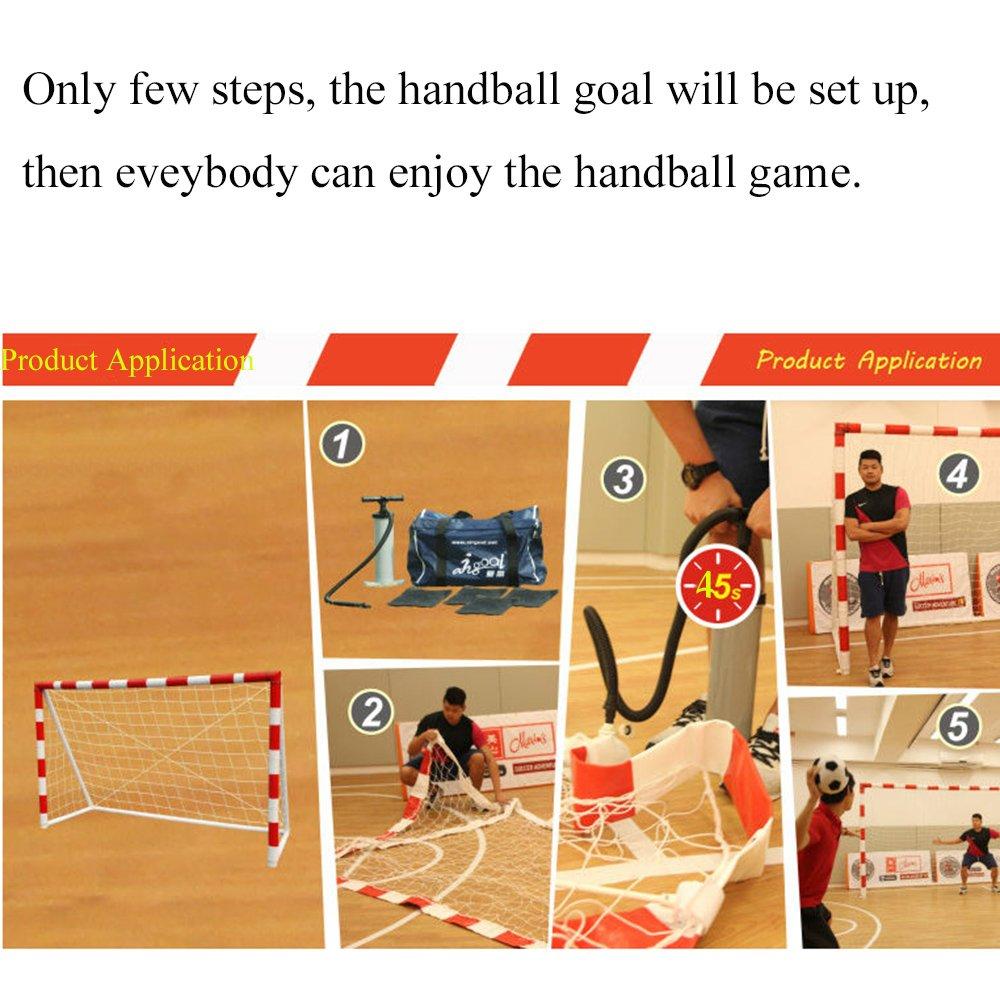 Airgoal Portería Hinchable de Balonmano para Chidrens Games ...