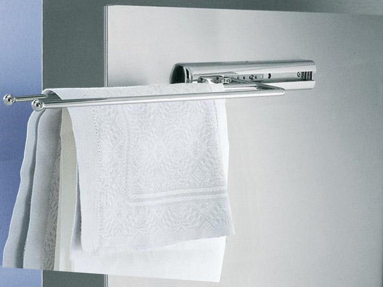 So tech handtuchauszug 2 armig handtuchhalter handtuchstange: amazon