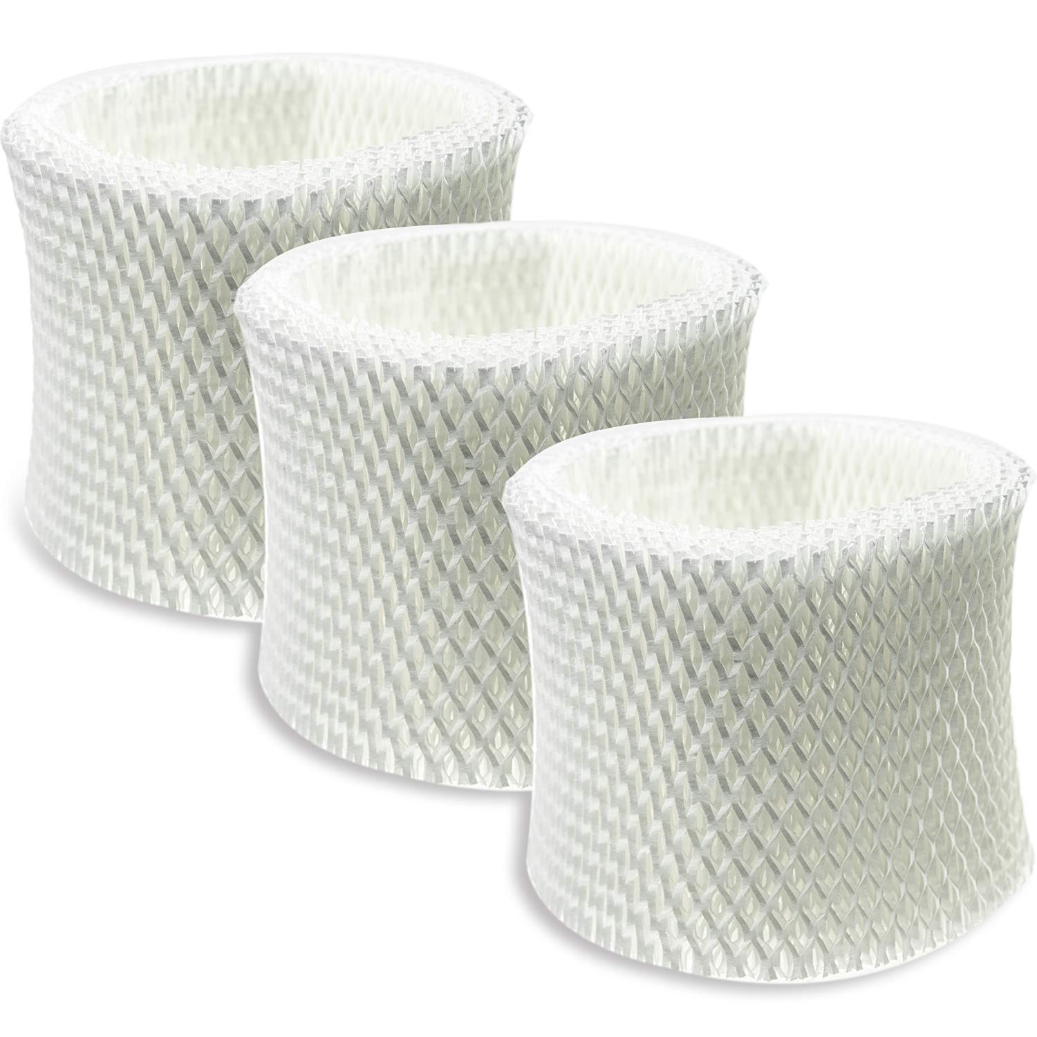 SKROS Compatible HCM-350,HCM-300T, HCM-600, HCM-710, HCM-315T Humidifier Wicking Filters Replacement for Honeywell HAC-504 and HAC-504AW,Filter A(3 Pack)