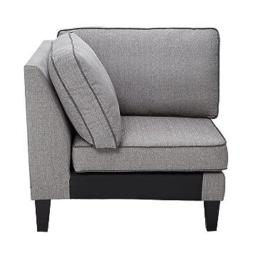 Amazon.com: Gordon Modular Sofa Corner Grey See Below: Kitchen & Dining