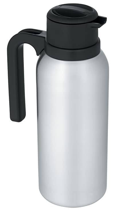 e384af290f Amazon.com: Thermos 32-Ounce Vacuum Insulated Stainless Steel Carafe:  Kitchen & Dining