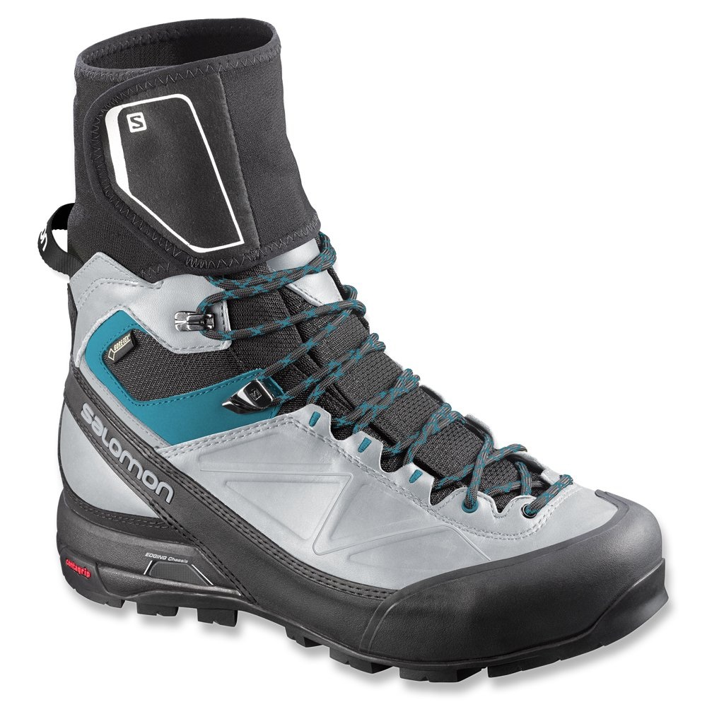 Salomon Men's X Alp Pro GTX Waterproof Hiking Boot B00KWK419E 5 B(M) US|Black / Light Onix / Boss Blue