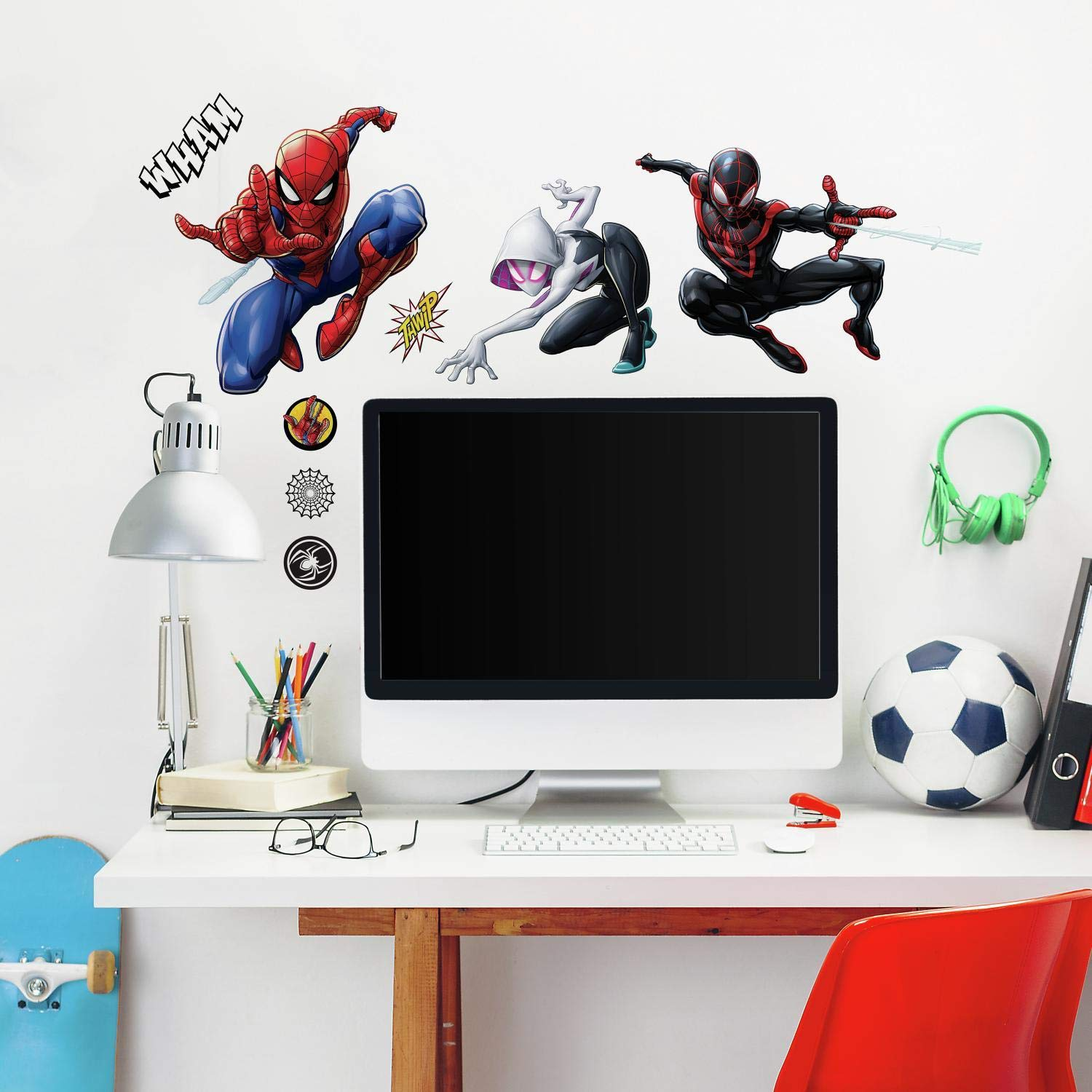 RoomMates Spider-Man Miles Morales Peel And Stick Wall Decals by RoomMates