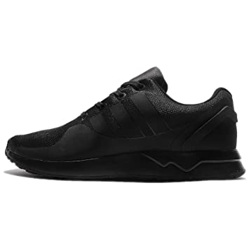 5e829467dd6bb adidas Originals ZX Flux ADV Tech Trainers Mens Black Sneakers Shoes  Footwear (UK9)(