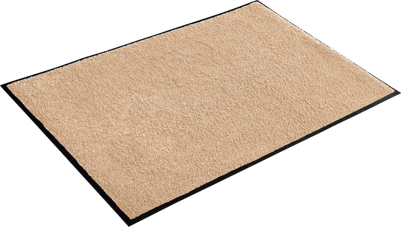 Wash+dry Fußmatte sand Größe 75x150 cm