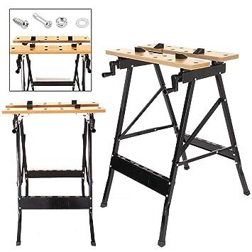 MultiWare Table De Travail Banc De Travail Établi Portable 100KG ... e107f6aa8c51